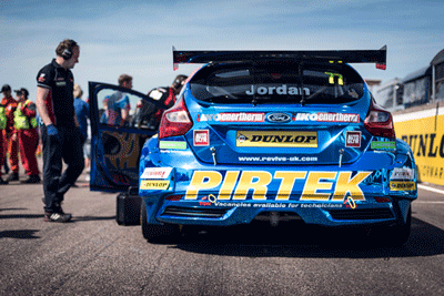 Image of Ford Focus BTCC car