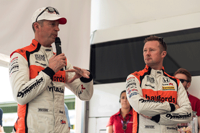 Image of Gordon Sheddon and Matt Neal
