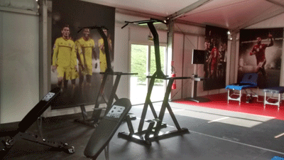 Image of training equipment