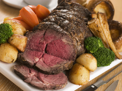 Image of a delicious roast