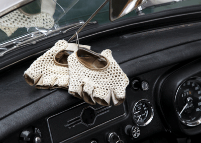Image of Alan Partridge style driving gloves