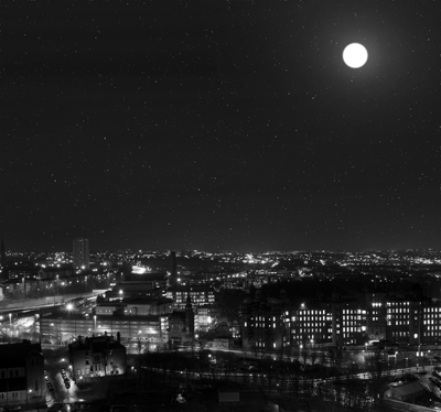 Image of Glasgow at night