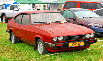 Image of a Ford Capri