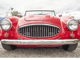 Image of a red classic car