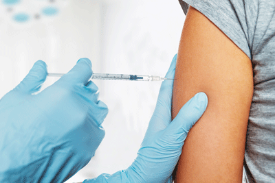 Image of a vaccination