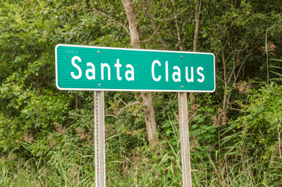 Image of Santa Claus, Indiana