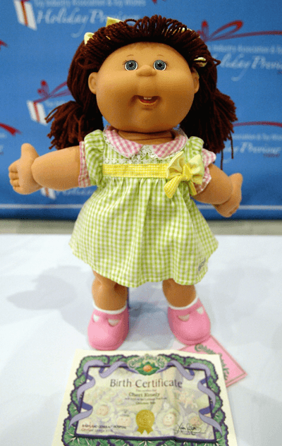 Image of cabbage patch doll