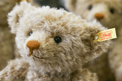 Image of Steiff teddy bear