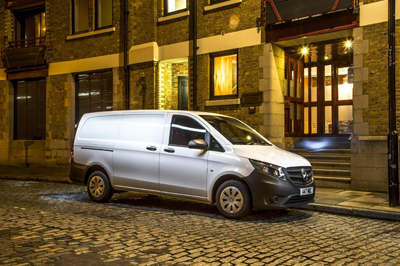 This image is of the Mercesdes-Benz Vito