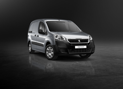 This is an image of a Peugeot Partner