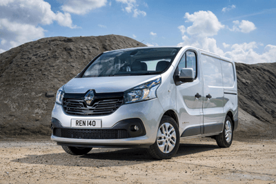 This is a picture of the Renault Trafic