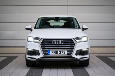 This image is of the new Audi Q7