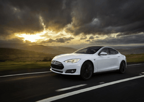 This is an image of the Tesla Model S