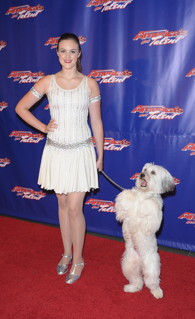 Image of Ashleigh and Pudsey