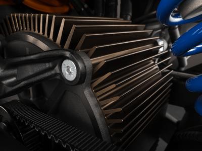 Electric motorbike motor