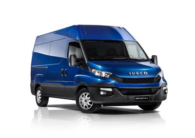 The iveco is the tenth pricest van model for van drivers under the age of 25