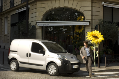 Peugeot's Bipper is an affordable model for under 25s, whether starting a band or floristry