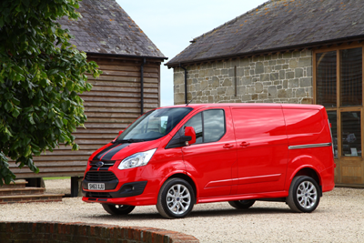 The most popular van brand for under 25s is the Ford with GoCompare