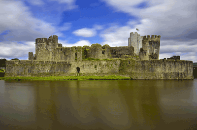 Image of Caerphilly Castle