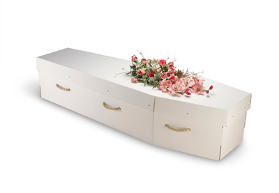 Image of biodegradable coffin