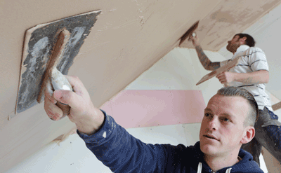Image of plasterers