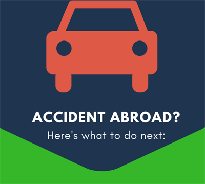 Image of accident abroad infographic