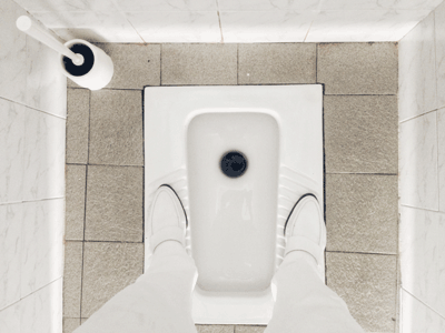 Image of a squat toilet