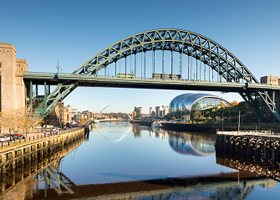 Image of th Tyne Bridge