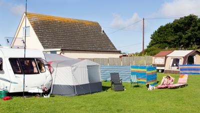 Image of an idyllic campsite
