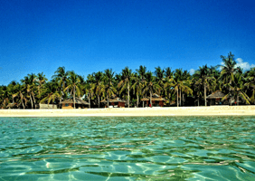 Image of tropical island