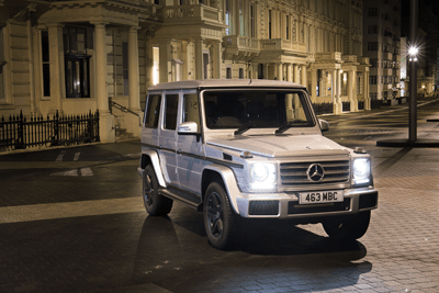 An image of the Mercedes-Benz G-class