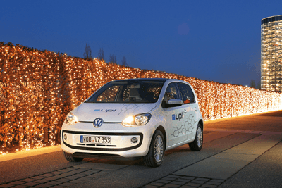 An image of the VW e-UP!