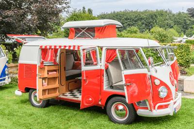 Image of converted camper van