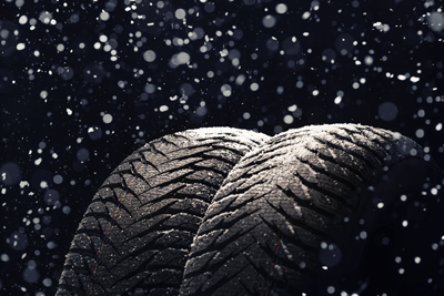 An image of winter tyres