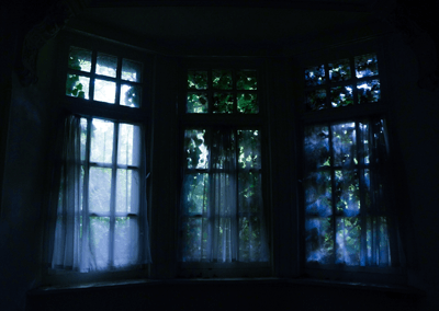 Image of spooky window