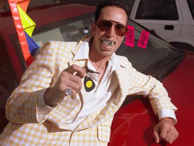 A dodgy car dealer