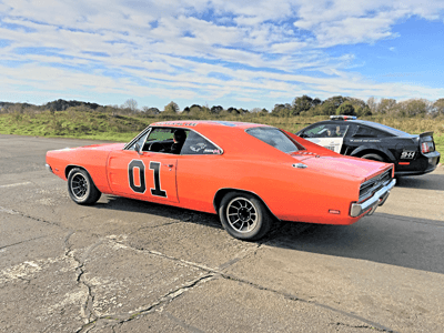 An image of 'The General Lee' Dodge Charger
