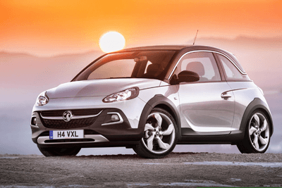An image of the Vauxhall ADAM