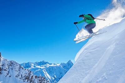 Image of Chamonix ski resort