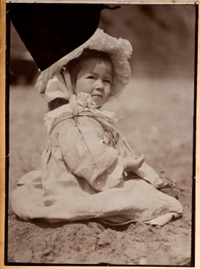 A Victorian baby