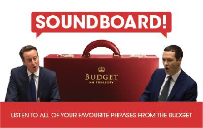 Image of budget soundboard