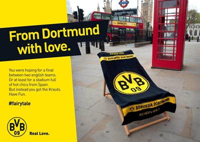 Borussia Dortmund postcard