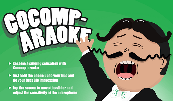Go compare mobile app
