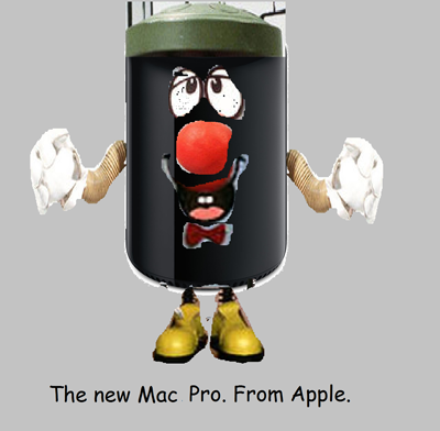 Mac Pro as Dusty Bin