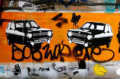 Reliant grafitti