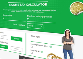 Image of Gocompare.com tax calculator