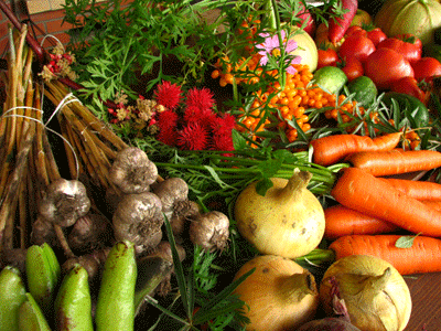 Image of fruit and veg