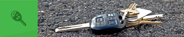 A set of car keys