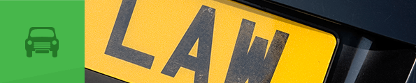 A car number plate