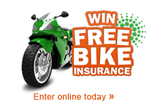 Win your motorbike insurance for free